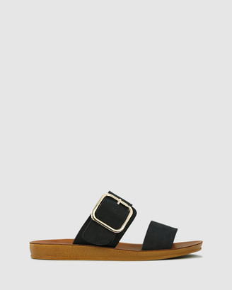 Los Cabos - Women's Black Strappy sandals - Doti - Size One Size, 37 at The Iconic