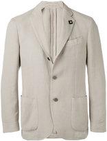 Lardini soft blazer - men - Cotton/Polyester/Viscose - 50