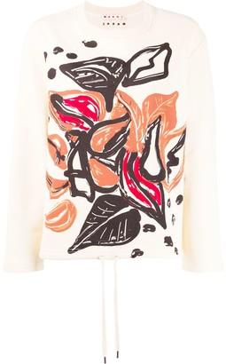 Marni graphic print jumper