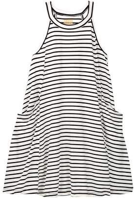 Harper Canyon Halter Stripe Dress (Big Girls)