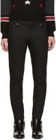 Saint Laurent Black Low Waisted Skinny Jeans