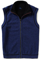 Tommy Bahama Full-Zip Mockneck Reversible Flip Side Pro Vest