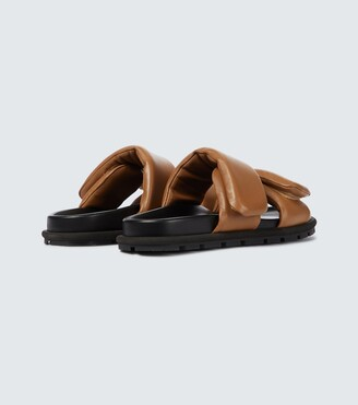 Dries Van Noten Leather strapped sandals