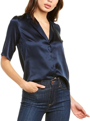 Amanda Uprichard Yvonne Silk Top