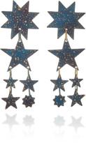 We Dream In Colour Orion Brass Earrings