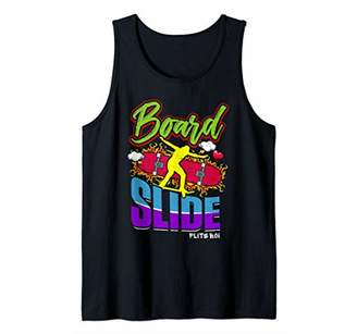 Flite Boi - Skateboards - Board Slide Skater Tank Top