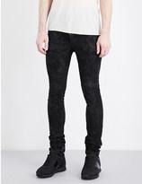 Boris Bidjan Saberi Coated slim-fit skinny jeans