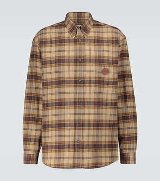 Gucci Checked flannel shirt