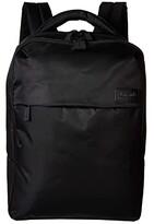 Lipault Paris Plume Business Laptop Backpack M (Black) Backpack Bags
