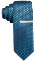 Alfani Men's Aqua Skinny Tie, Created for Macy's