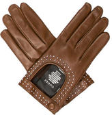 Gucci Leather Stud-Embellished Gloves w/ Tags