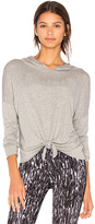 Beyond Yoga All Tied Up Hoodie in Gray. - size L (also in M,S,XS)