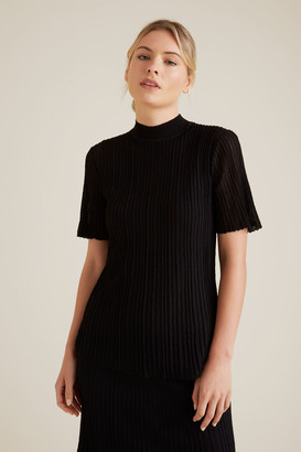 Seed Heritage High Neck Knit
