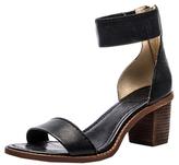 Frye Brielle Back Zip Leather Sandal