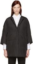 Jil Sander Reversible Black Down Camping Coat