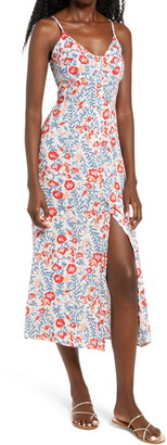 Billabong Sugared Life Sleeveless Midi Dress