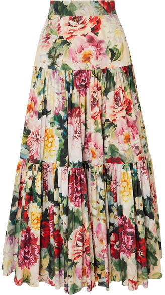 3bd258a522 Womens Long Tiered Skirts - ShopStyle