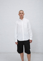 Acne Studios white isherwood poplin shirt