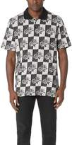 Stussy Rose Block Polo Shirt