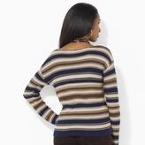 Lauren Ralph Lauren Ralph Striped Cotton Crewneck Top