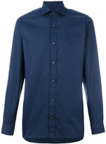 Z Zegna micro dots print shirt - men - Cotton - 39