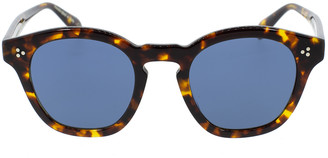 Oliver Peoples Bourdeau L.A Sunglasses - Tortoise and Blue