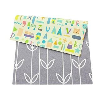 Baby Care Playmat Sea Petals Grey Small