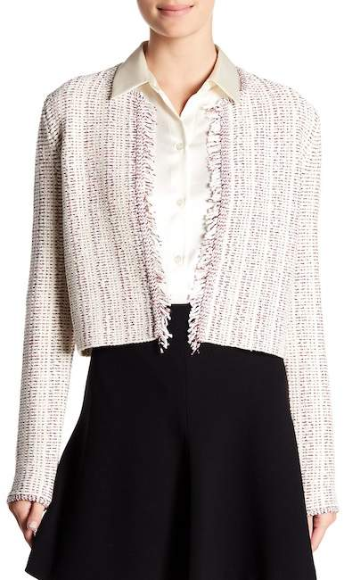 Theory Galinne Speckle Boucle Jacket