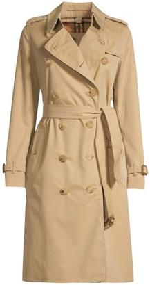 Burberry Heritage Kensington Long-Length Trench Coat