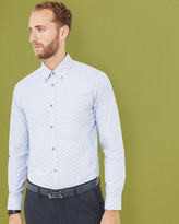 Ted Baker Dobby cotton shirt