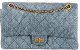 Chanel Quilted Denim Reissue Flap Bag