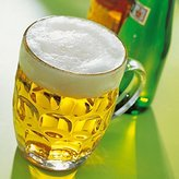 Traditional Glass Pint Tankards CE - Set of 4   Also known as Dimpled Beer Tankard, Britannia Pint Mug, Beer Stein, Beer Mug