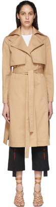 Stella McCartney Beige Twill Trench Coat