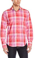 Bugatchi Men's Fatini Long Sleeve Shaped Button Down Shirt