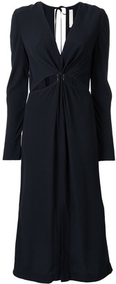 Dion Lee Cut-Detail Long Sleeve Dress