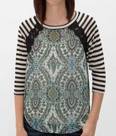 Fire Paisley Top