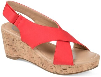 Journee Collection Jenice Wedge Sandal