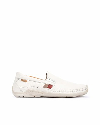 PIKOLINOS Leather Loafers Azores 06H White