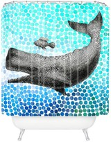 DENY Designs New Friends 3 Shower Curtain