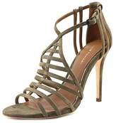 Elie Tahari Odessa Open Toe Suede Sandals.
