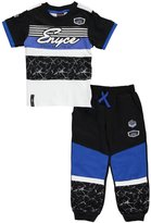 "Enyce Little Boys' Toddler ""Marble Panel"" 2-Piece Outfit"