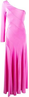 A.N.G.E.L.O. Vintage Cult 1960's Single Sleeve Diagonal Gown