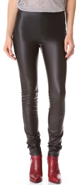 M Missoni Faux Leather Leggings