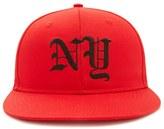 Forever 21 FOREVER 21+ Men NY Snapback Hat