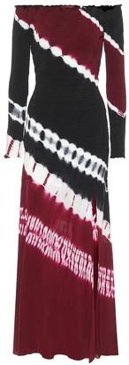 Altuzarra Shibuya tie-dye silk maxi dress
