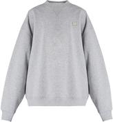 Acne Studios Yana face-patch cotton sweatshirt