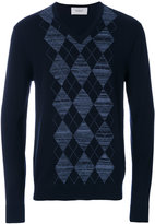 Pringle V-neck argyle sweater