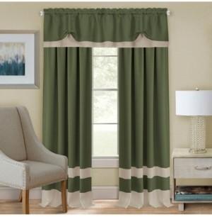 Achim Darcy Rod Pocket Window Curtain Panel, 52x63