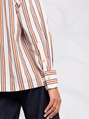 BA&SH Nais striped shirt