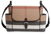 Burberry Infant Flap Diaper Bag - Black